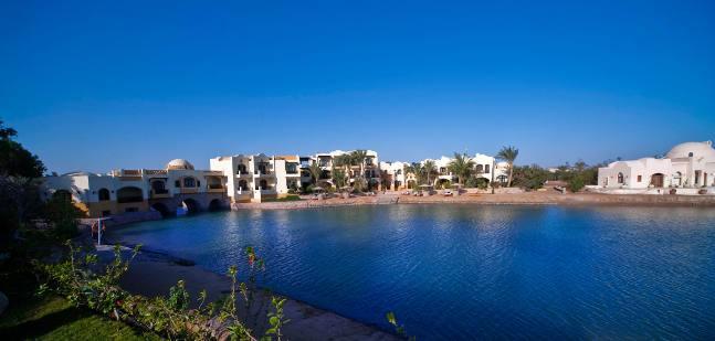 Dawar el Omda Hotel in El Gouna, Rotes Meer Außenaufnahme