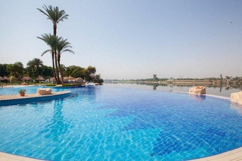Jolie Ville Kings Island Luxor in Luxor, Oberägypten Pool
