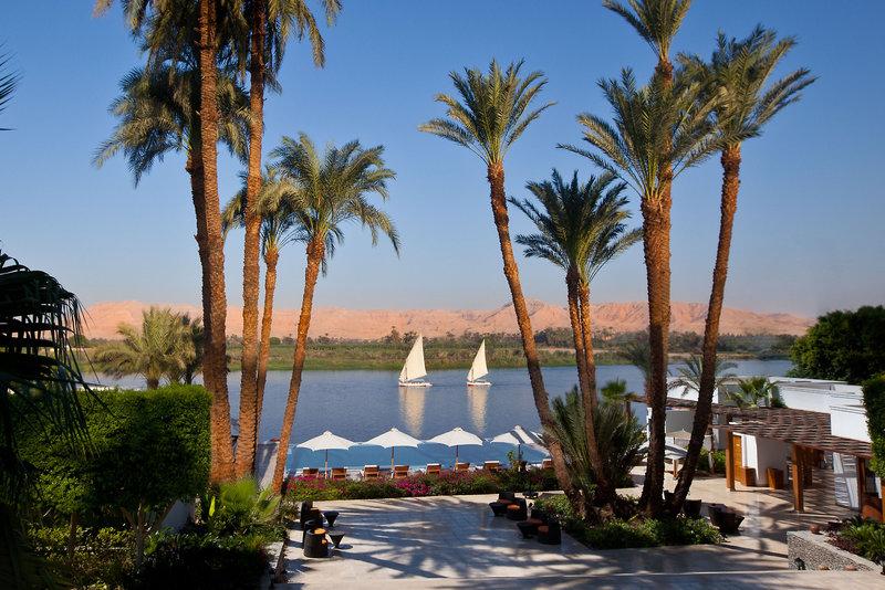 Hilton Luxor in Luxor, Oberägypten Außenaufnahme