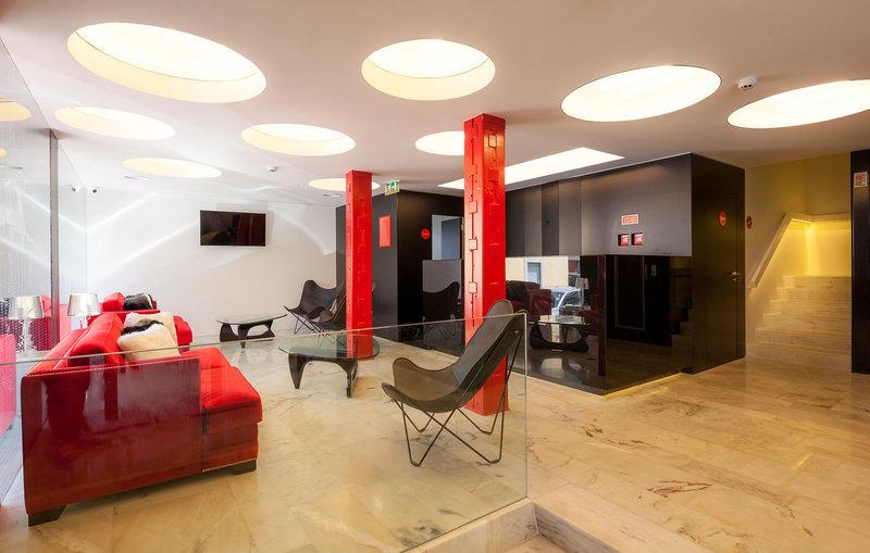Faro Boutique Hotel in Faro, Algarve Lounge/Empfang