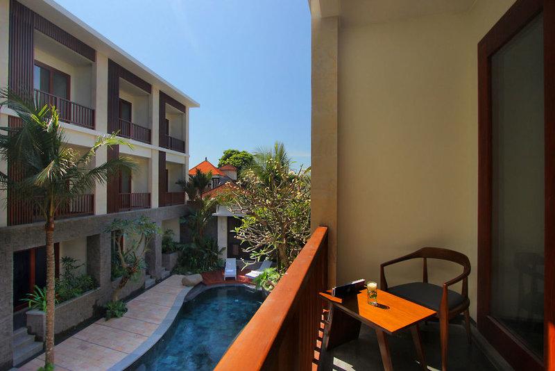 Akana Hotel Sanur in Sanur, Indonesien - Bali Terasse
