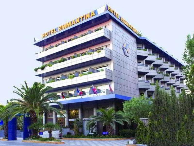 Emmantina Hotel in Glyfada, Athen & Umgebung Außenaufnahme