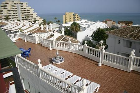 Hotel Betania in Benalmádena, Costa del Sol Außenaufnahme