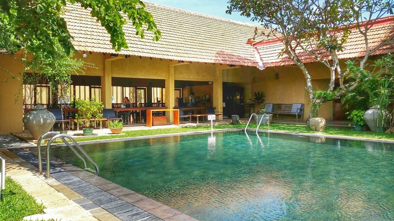 Jetwing Ayurveda Pavillons in Negombo, Sri Lanka Pool