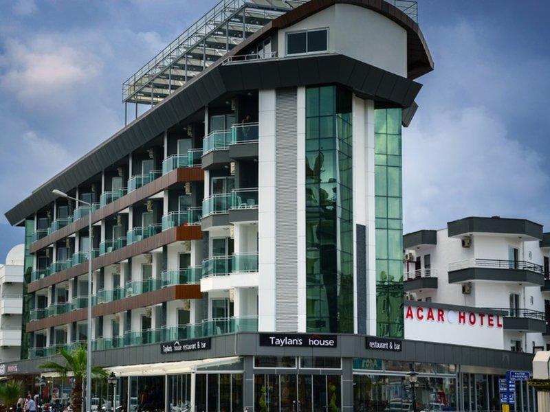 Hotel Acar in Alanya, Türkische Riviera Außenaufnahme