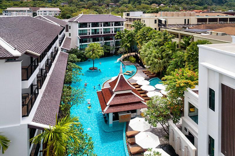 Centara Anda Dhevi Resort & Spa Krabi in Krabi, Süd-Thailand Außenaufnahme
