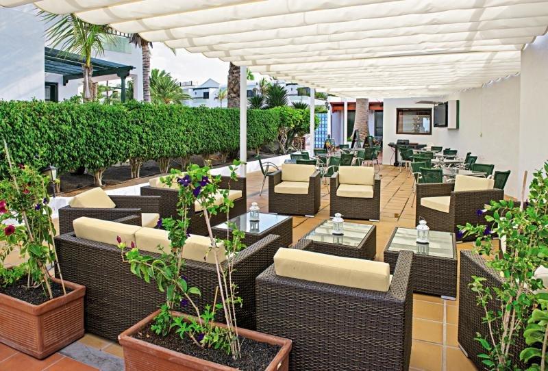 LABRANDA Playa Club in Puerto del Carmen, Lanzarote Terasse