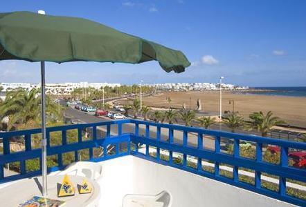 Pocillos Club in Puerto del Carmen, Lanzarote Terasse