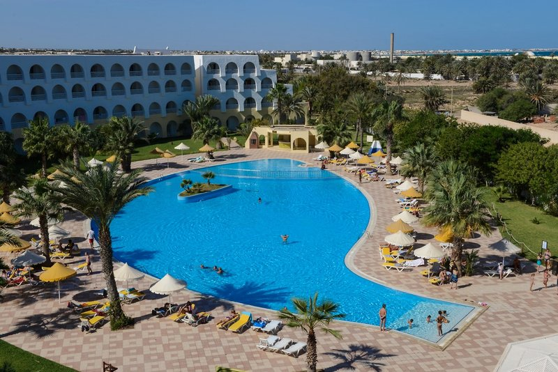 Hotel Sidi Mansour Resort & Spa in Insel Djerba, Djerba Außenaufnahme