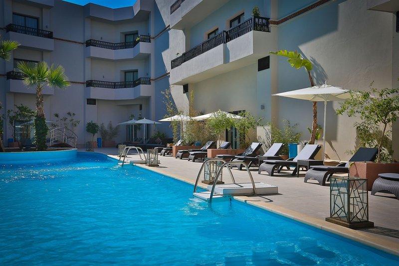Kech Boutique Hotel & Spa in Marrakesch, Marrakesch Pool