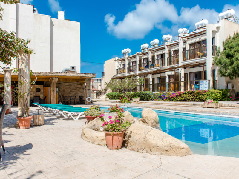 King's Hotel in Paphos, Zypern Süd (griechischer Teil) Außenaufnahme