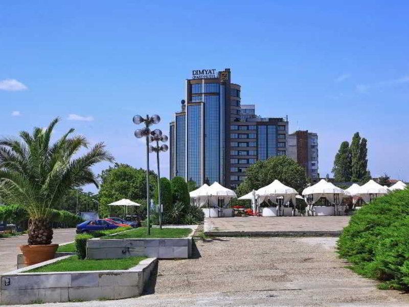 Rosslyn Dimyat Hotel Varna in Warna, Riviera Nord (Goldstrand) Außenaufnahme