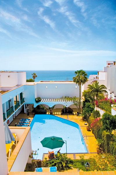 Aparthotel Esquinzo y Monte del Mar in Playa de Esquinzo, Fuerteventura Außenaufnahme