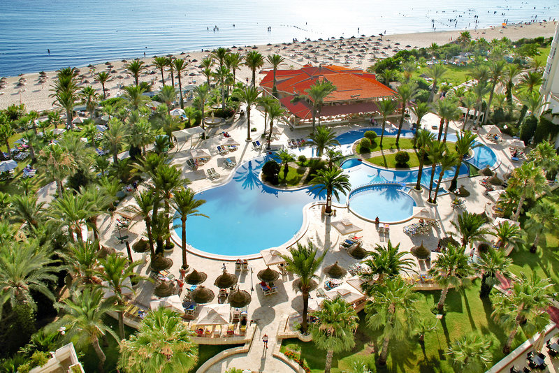 Riadh Palms Resort & Spa in Sousse, Monastir & Umgebung Außenaufnahme