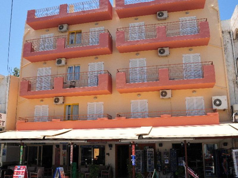 Acropolis Apartments in Chersonissos, Kreta Außenaufnahme