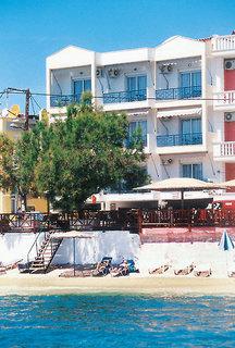Hotel Thalassies in Limenaria, Thassos Außenaufnahme
