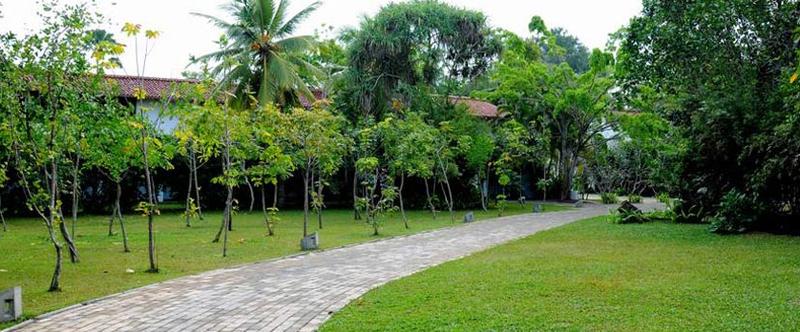 Heritance Ayurveda Maha Gedara in Beruwela, Sri Lanka Garten