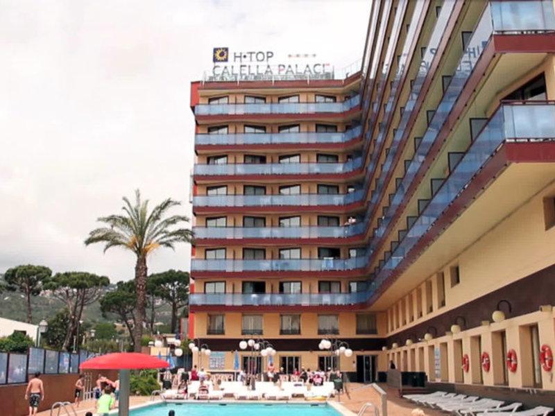htop Calella Palace in Calella de la Costa, Barcelona & Umgebung Außenaufnahme