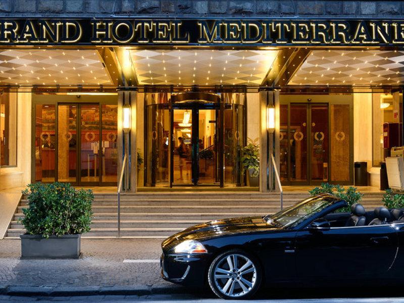 Grand Hotel Mediterraneo in Florenz, Toskana - Toskanische Küste Außenaufnahme