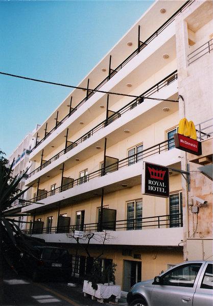 Royal Aparthotel City Centre in Rhodos-Stadt, Rhodos Außenaufnahme