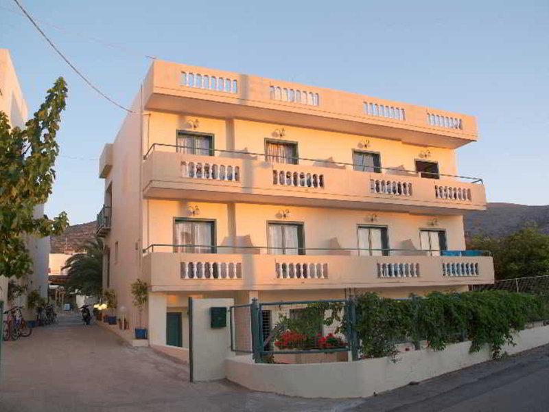 Theoni Apartment in Malia, Kreta Außenaufnahme