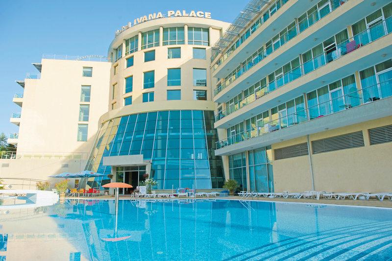Hotel Ivana Palace in Sonnenstrand, Riviera Süd (Sonnenstrand) Außenaufnahme