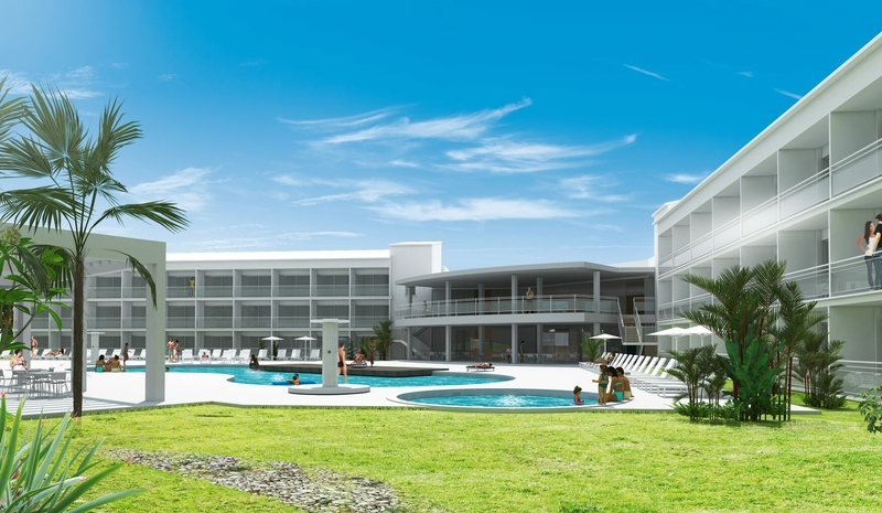 Hotel Gran Sagitario in Ciutadella de Menorca, Menorca Außenaufnahme