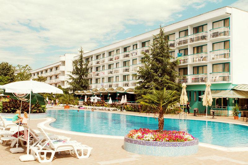 Zefir Hotel in Sonnenstrand, Riviera Süd (Sonnenstrand) Außenaufnahme