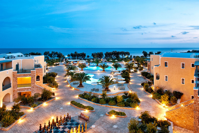 Santo Miramare Resort in Perivolos, Santorin Außenaufnahme