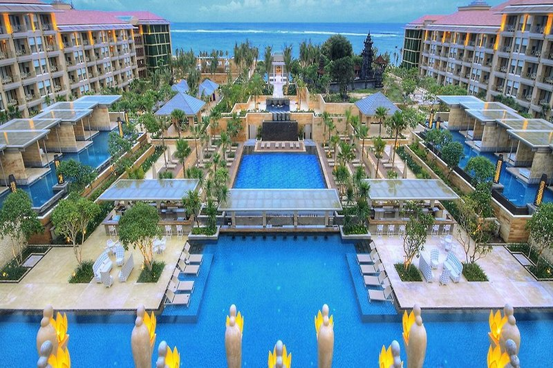 Mulia Resort in Nusa Dua, Indonesien - Bali Pool