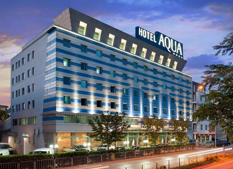 Aqua Hotel Varna in Warna, Riviera Nord (Goldstrand) Außenaufnahme
