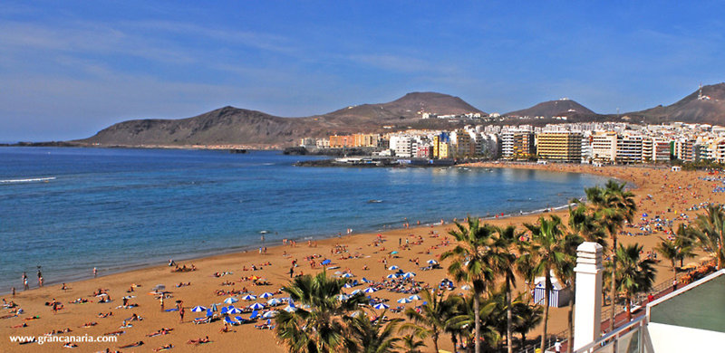 Residencia Pujol in Las Palmas de Gran Canaria, Gran Canaria Strand