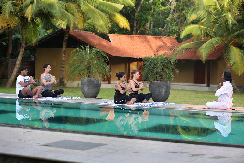 Villa Velmarie in Beruwela, Sri Lanka Pool