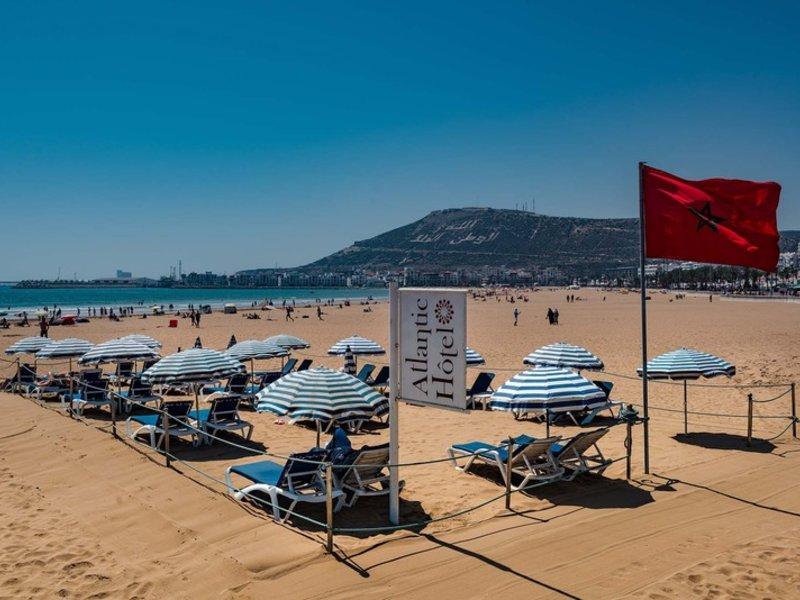 Atlantic in Agadir, Agadir & Atlantikküste Strand