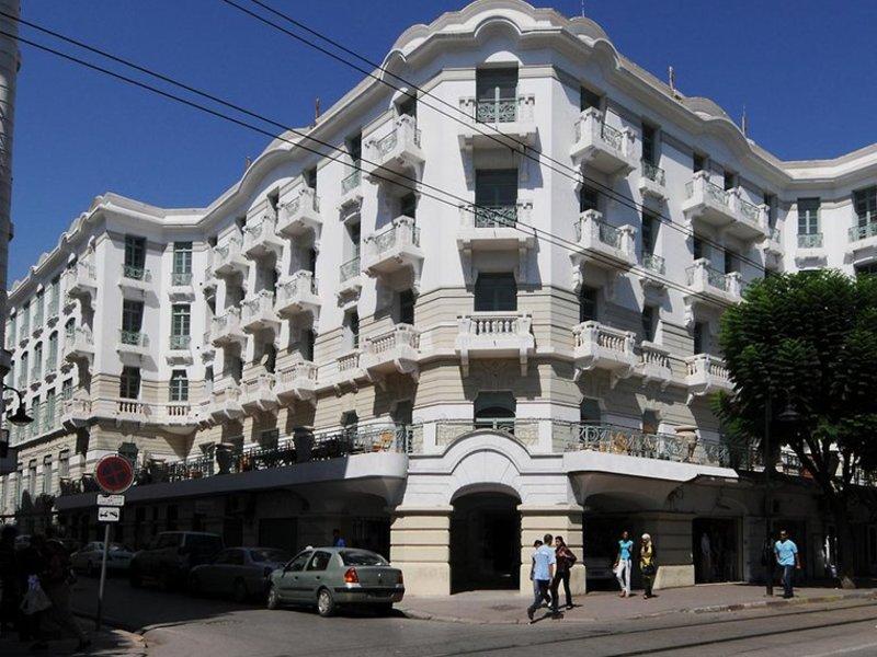 Hotel Majestic in Tunis, Tunis & Umgebung Außenaufnahme
