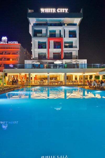 White City Beach Hotel in Konakli, Türkische Riviera Außenaufnahme