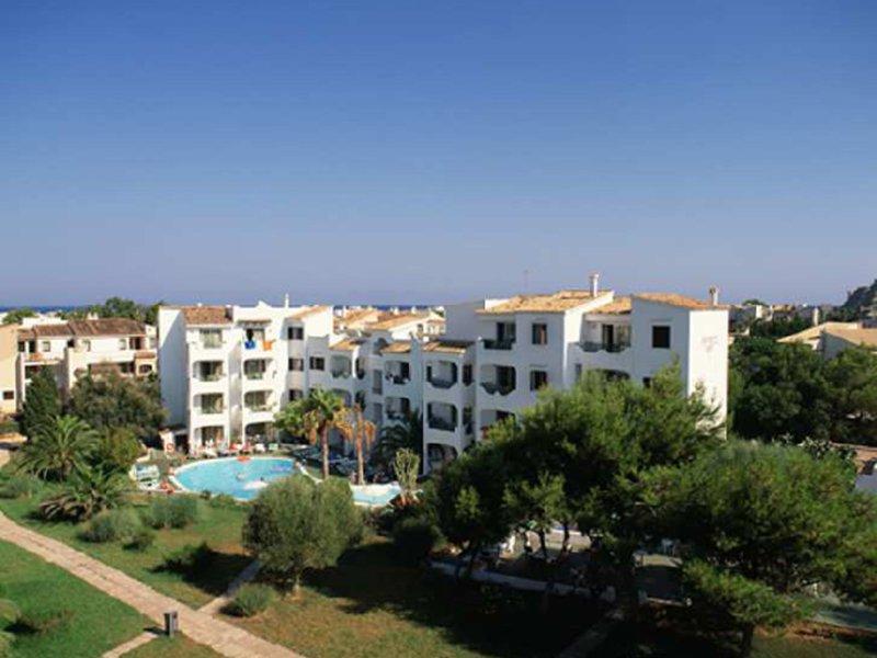 Apartamentos Europa in Sa Coma, Mallorca Außenaufnahme