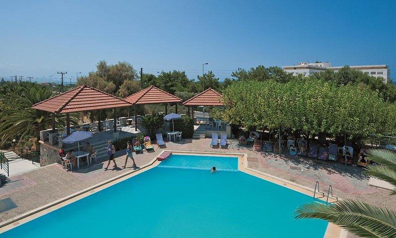 Hotel Gortyna in Skaleta, Kreta Pool