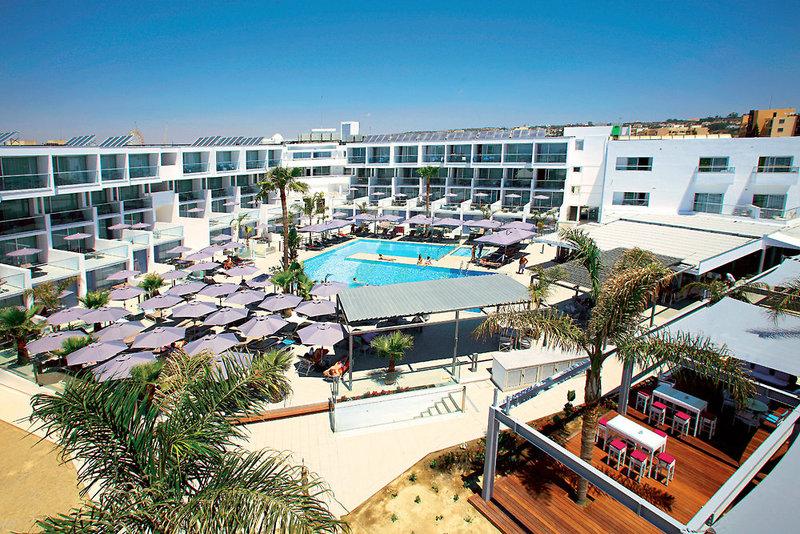 Limanaki Beach Hotel in Ayia Napa, Zypern Süd (griechischer Teil) Außenaufnahme
