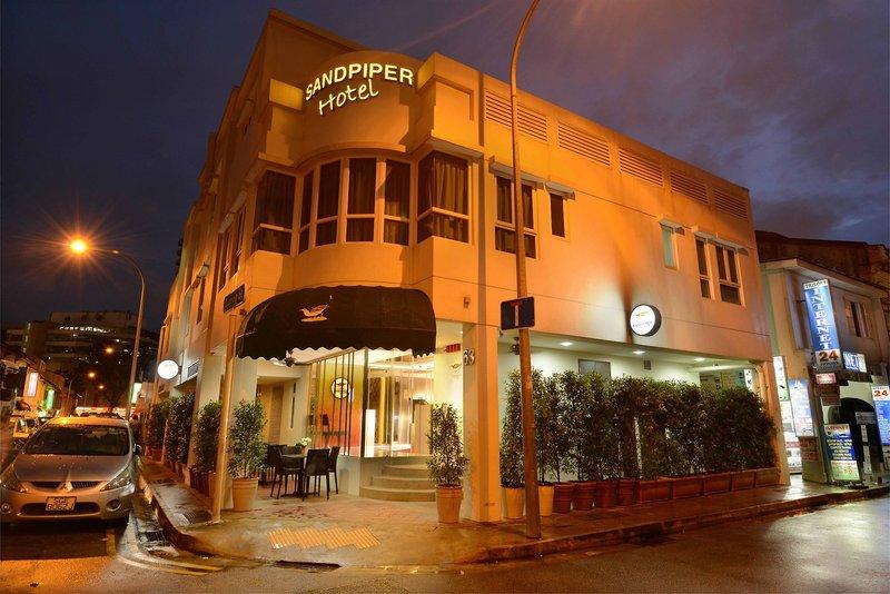 Sandpiper Hotel Singapore in Singapur, Singapur Außenaufnahme