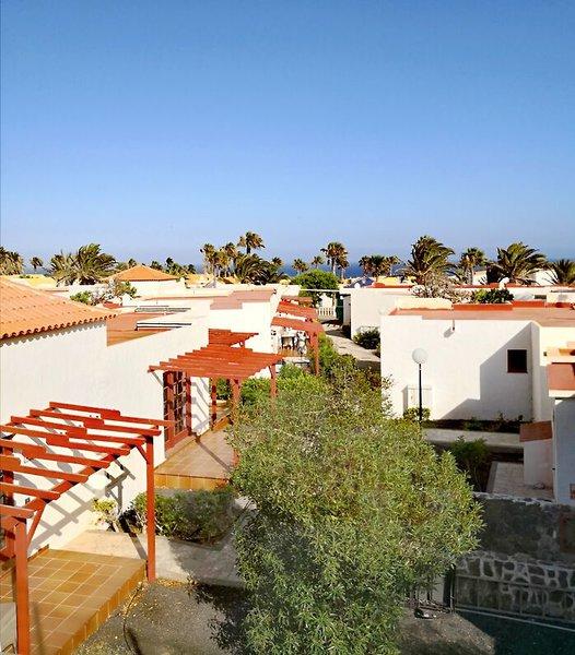 Castillo Beach Club in Caleta de Fuste, Fuerteventura Terasse