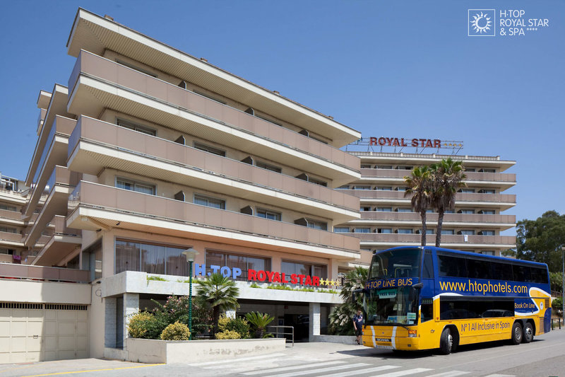 htop Royal Star in Lloret de Mar, Costa Brava Außenaufnahme