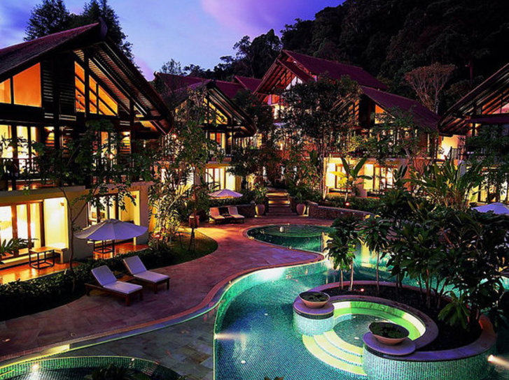 The Tubkaak Krabi Boutique Resort in Krabi, Süd-Thailand Außenaufnahme