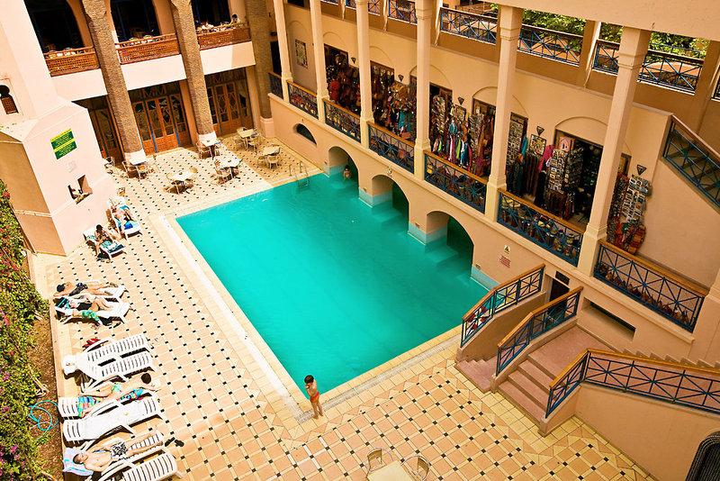 Oudaya Hotel in Marrakesch, Marrakesch Pool