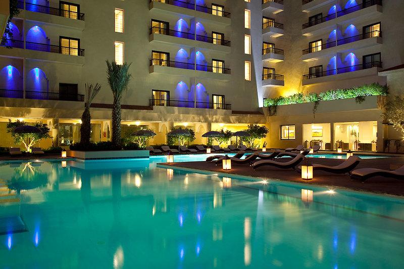 Red Hotel Marrakech in Marrakesch, Marrakesch Pool