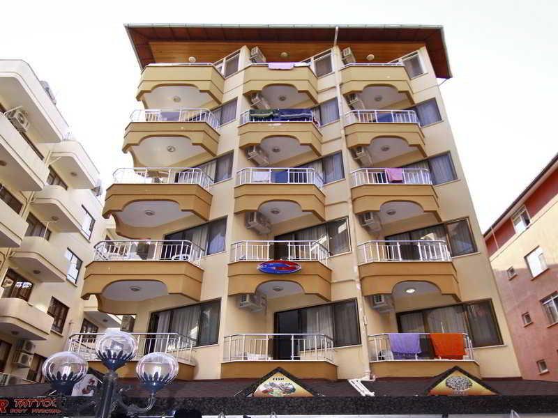 Kleopatra Develi Hotel in Alanya, Türkische Riviera Außenaufnahme