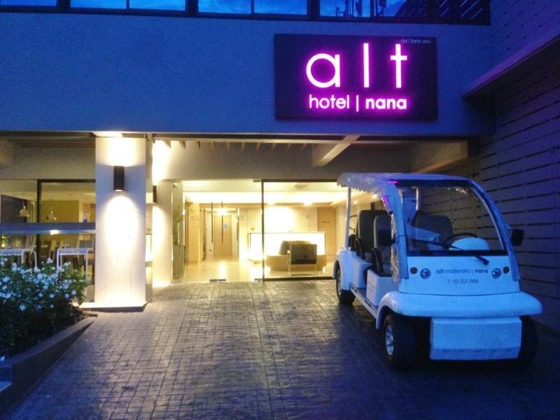 Alt Hotel Nana in Bangkok, Bangkok & Umgebung Außenaufnahme