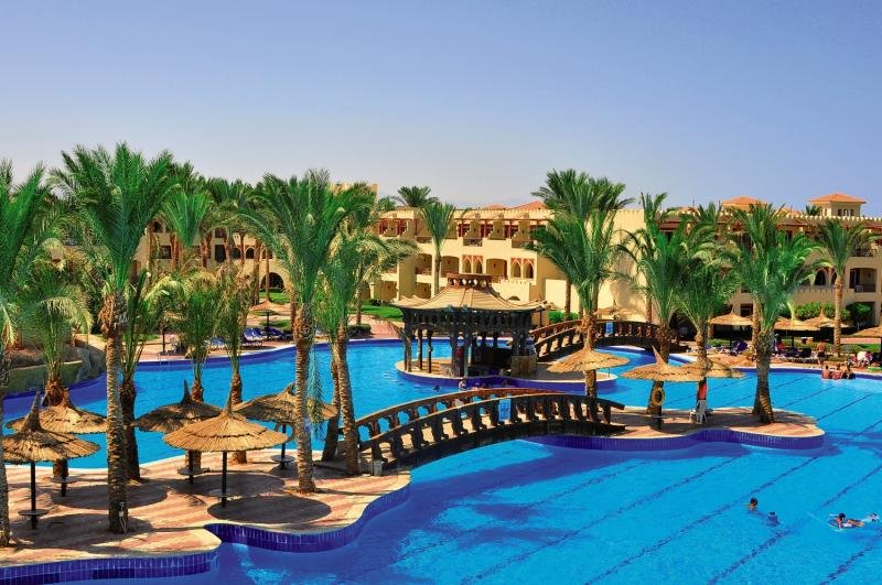 Sea Beach Aqua Park Resort in Nabq, Sinai - Halbinsel Pool