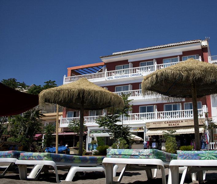 Hotel Mediterraneo Carihuela in Torremolinos, Costa del Sol Außenaufnahme