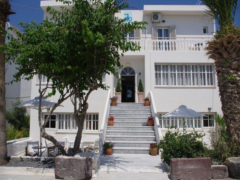Kamari Blu Boutique Hotel in Kamari, Santorin Außenaufnahme